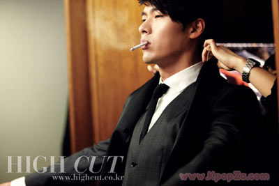 Hyun Bin ถ่ายภาพลง High Cut กับฉากหลังกรุงเบอร์ลิน