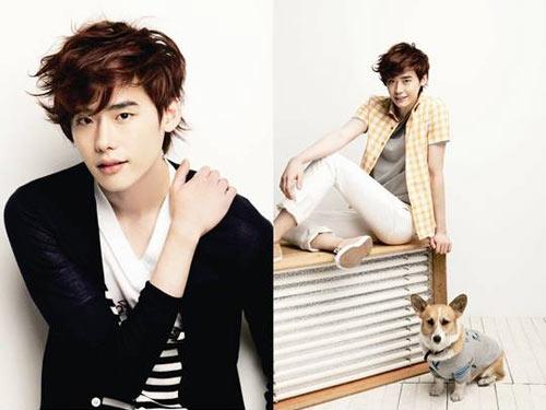 "Lee Jong Suk จาก ""Secret Garden"" เป็นแบบให้กับ 'EZIO'"
