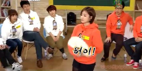 """คลิป Eunjung (T-ara) โชว์ความสามารถใน """"100 Points out of 100″"""