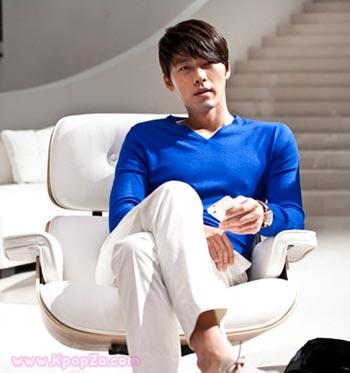 Hyun Bin ถ่ายโฆษณาให้ Smart TV ของซัมซุง