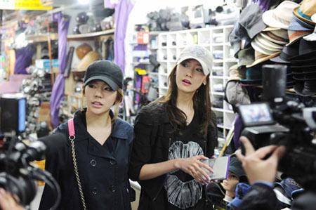 รูปภาพเพิ่มเติมของ YoonA และ Sunny ใน Running Man