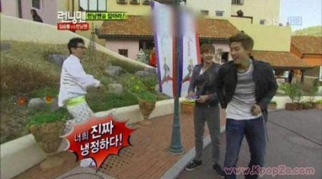 นิชคุณและ Taecyeon วิ่งไล่จับสมาชิก Running Man ด้วยความเร็วอันน่าเหลือเชื่อ
