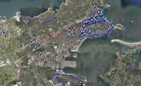 mapa carril bici santander