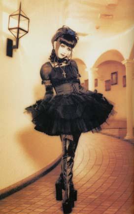 short goth dress