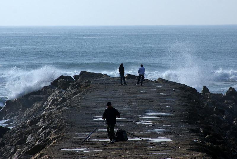 Ondas na Costa da Caparica