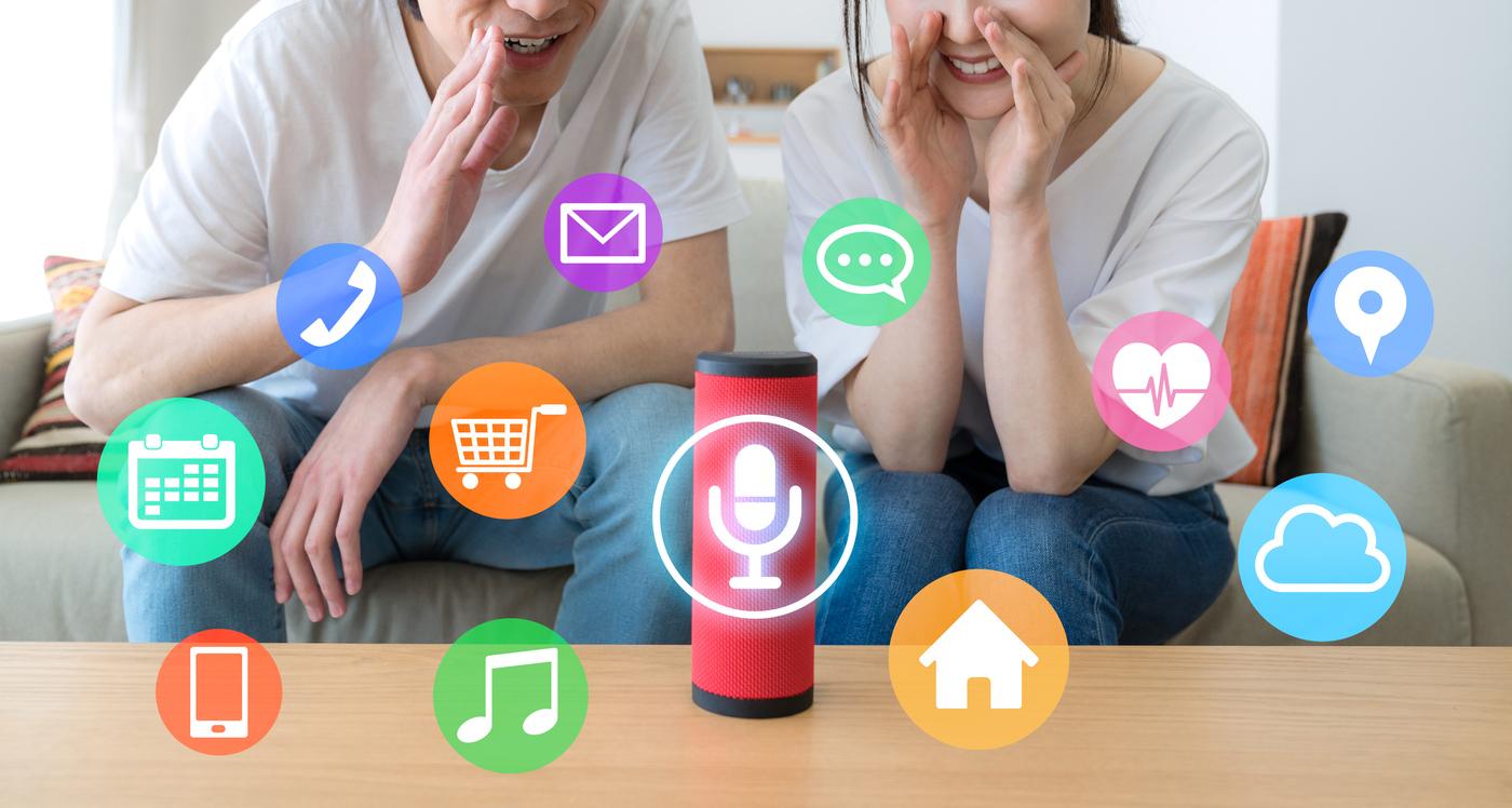 smart-speaker-AI-concept