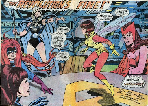 Avengers #83, the Valkyrie. Come on in, the revolution's fine!