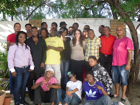 Participants at IGLHRC and OutRight Namibia's Training