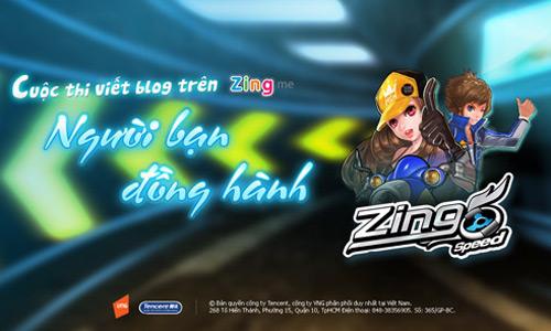 Zing Speed công bố kết quả cuộc thi viết blog 1