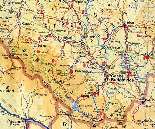 Jizni Cechy Cteni Z Mapy