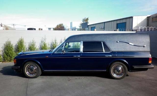 Rolls-Royce Silver Spur II Hearse