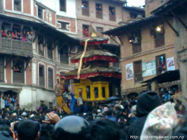 Bhairav Nath Rath Coming From Gahiti