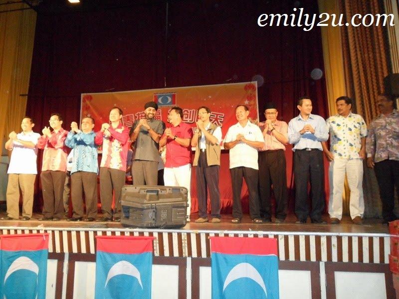 Keadilan leaders from Perak