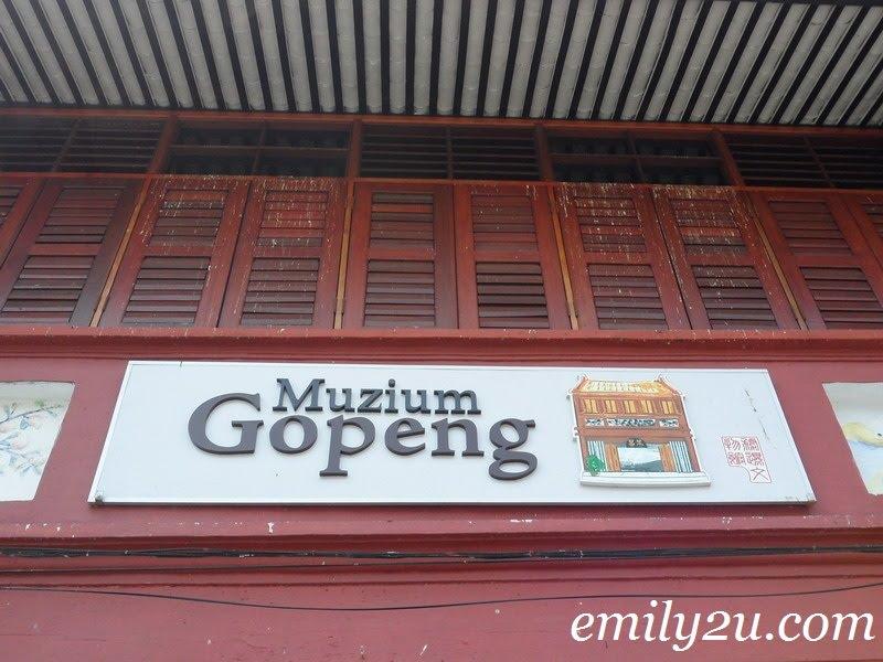 Muzium Gopeng in Perak