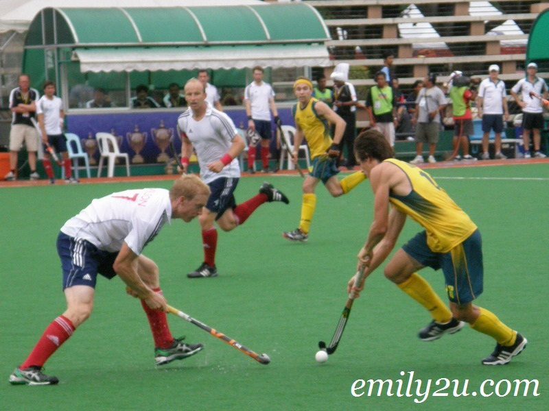 Great Britain vs Australia 3