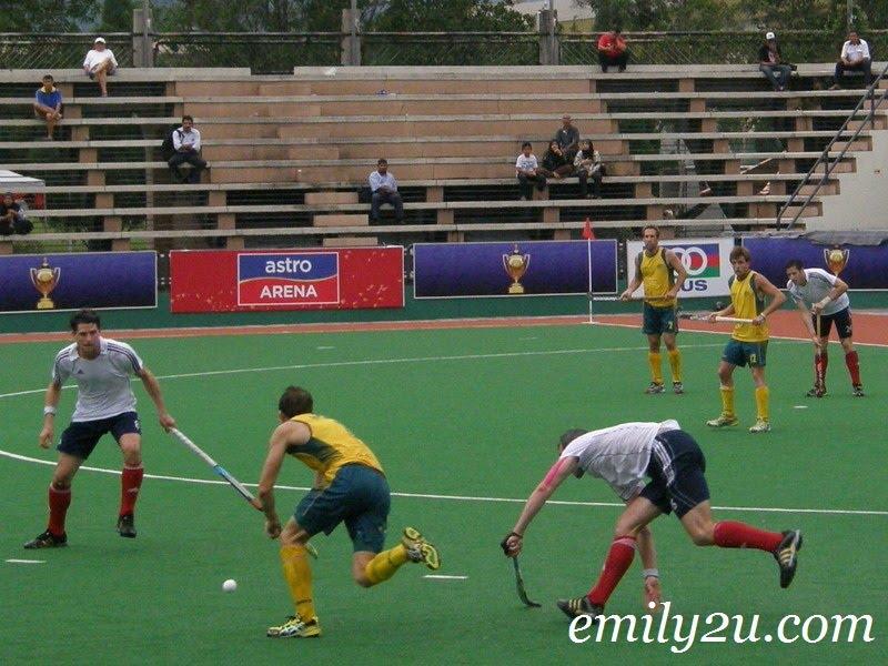 Great Britain vs Australia 5