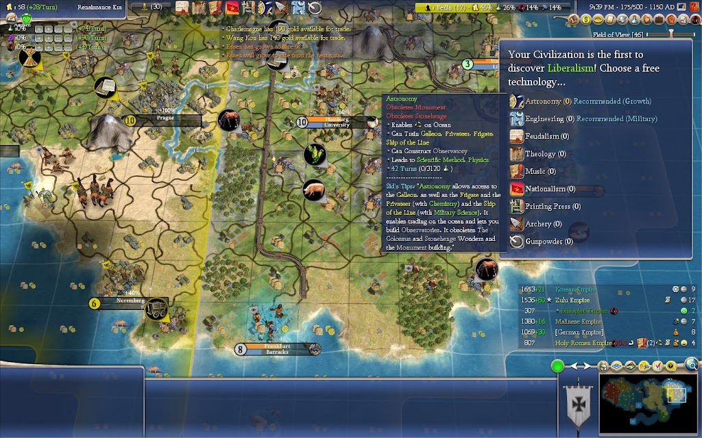 civ 6 how to grow occupied cities