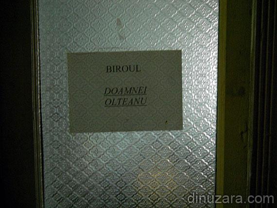 Biroul doamnei Olteanu