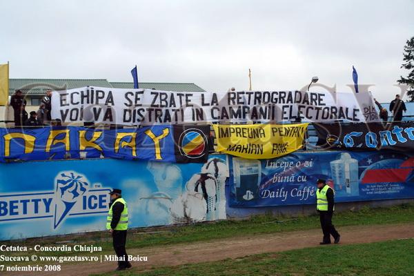 FC Cetatea Suceava - La un an de la desfiinţare, război pe ruinele Cetăţii