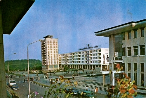 Centrul municipiului Suceava înainte de 1989