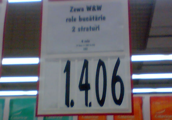 Preţuri în Kaufland