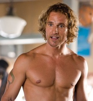 MATTHEW MCCONAUGHEY to Star as Former Male Stripper