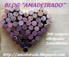 Selinho da Amiga Lena pelos seus 300 seguidores