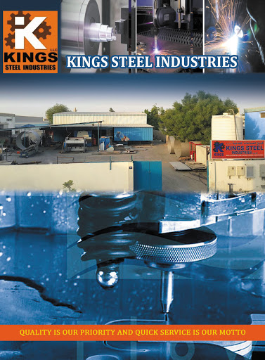 KINGS STEEL INDUSTRIES LLC, AL JERF - Water Jet Cutting