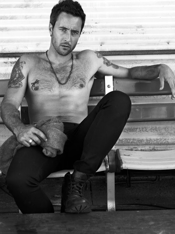Alex O'Loughlin by Robbie Fimmano for GQ Style AU, F/W 2011
