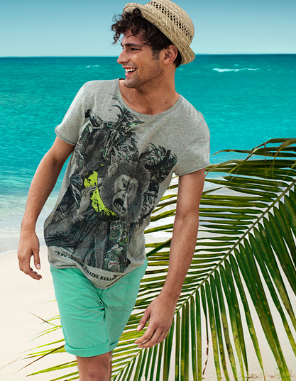 Sean O'Pry @ VNY for H&M Summer 2011