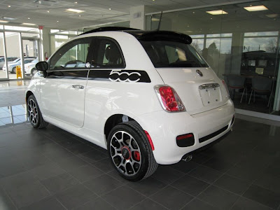 First Fiat 500 in North America
