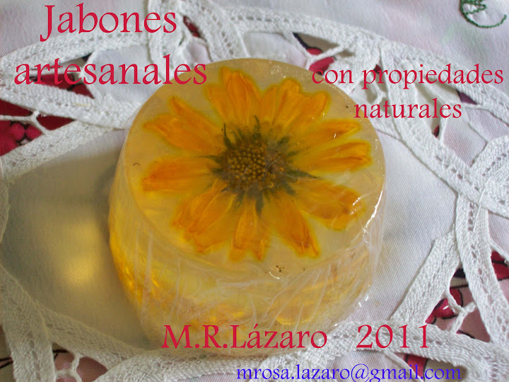 Jabones artesanales M.R.L