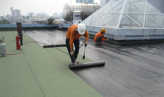 Thi công phần chống thấm cho công trình