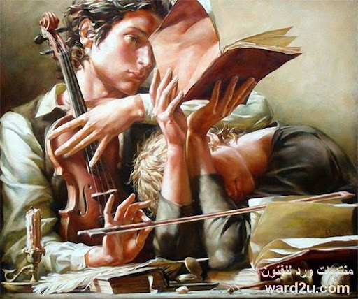 انامل وعيون تعشق الموسيقى