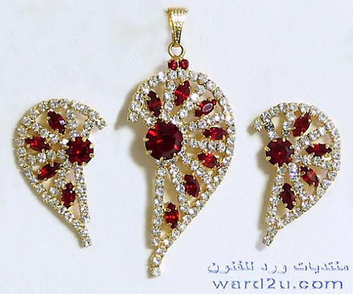 مجوهرات هنديه بتصميمات رائعه
