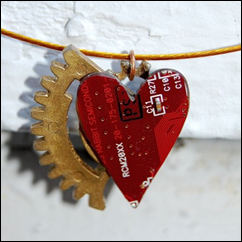 Heart Fire Necklace from The Lady Herself