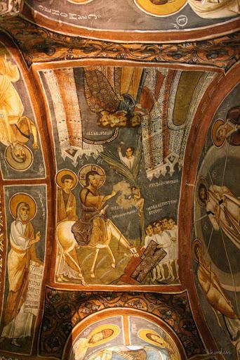 Темная церковь, Karanlik kilise, Каппадокия, Гёреме, Каранлик