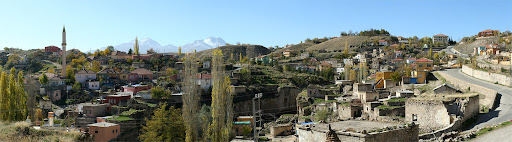 Деревня Ихлара, Каппадокия, панорама