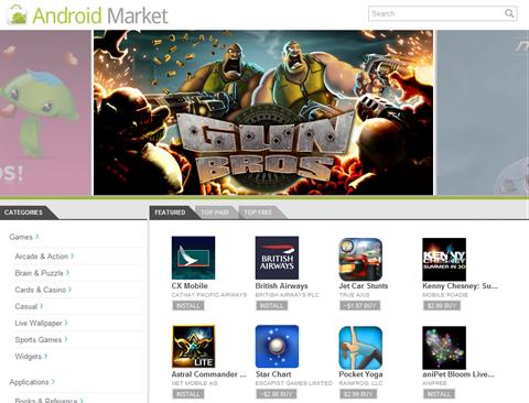 Android Market - screenshot