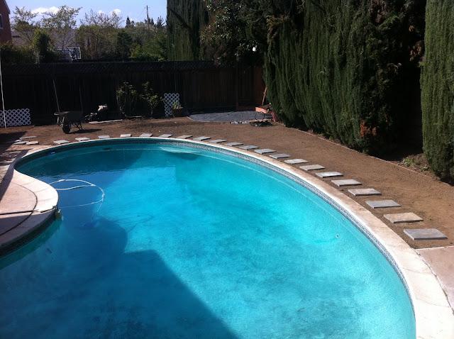 Remove Concrete Deck Around Ig Pool