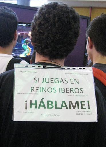 """Salón del Manga de Alicante Mayo """"2011"""" Hablame"""