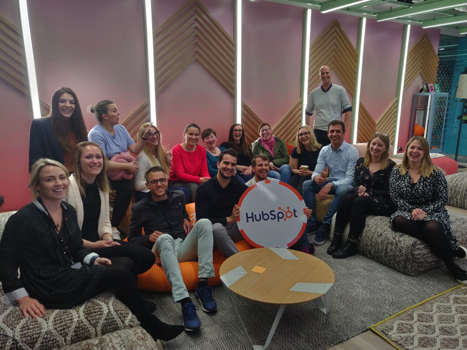 HubSpot Bootcamp Gruppenbild
