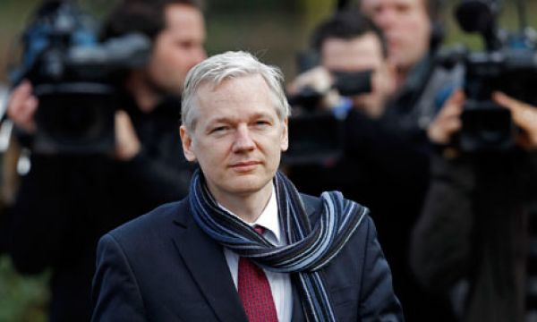 Julian Assange and Raymond A. Davis