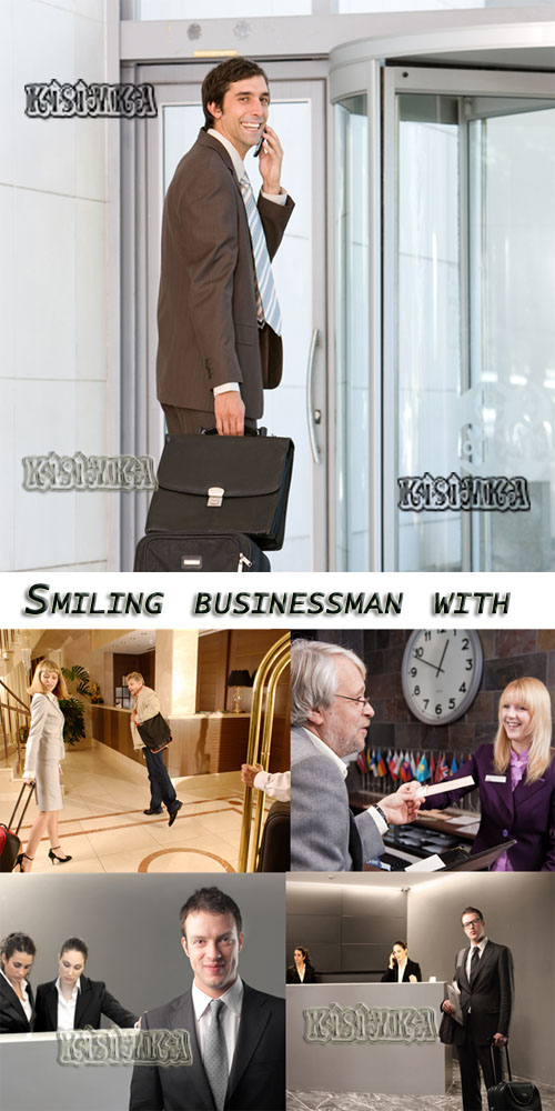 Stock Photo: Smiling businessman 7