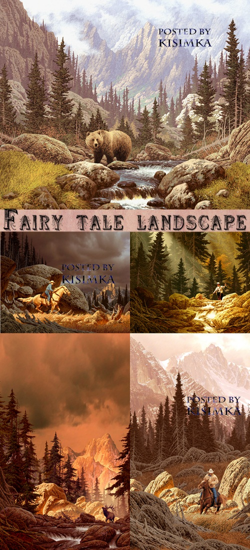Stock Photo: Fairy tale landscape