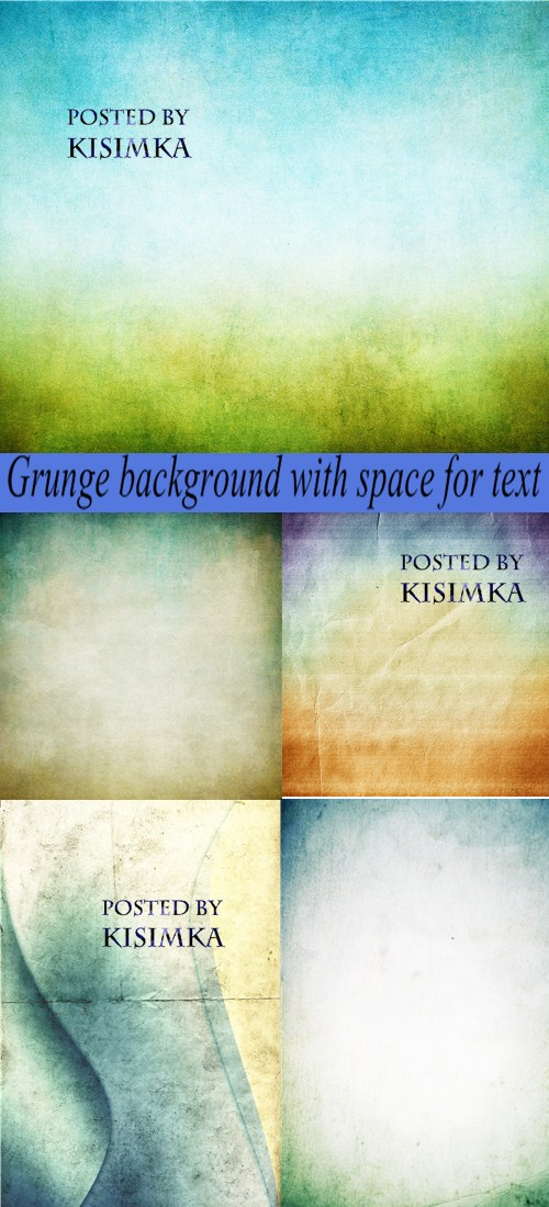 Stock Photo: Grunge background with space for text