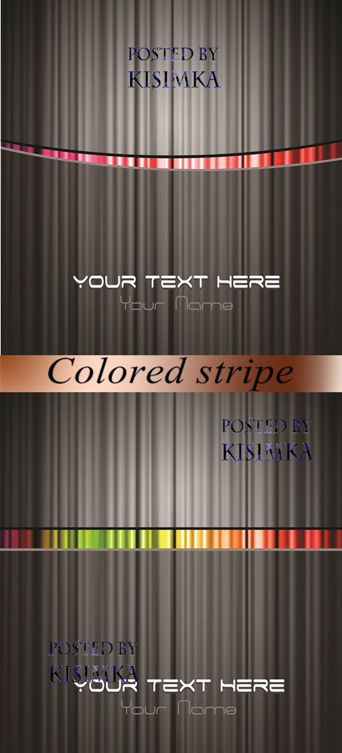 Stock: Colored stripe background