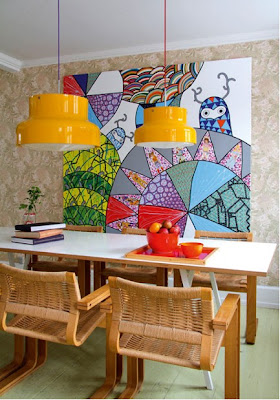 dining area featured on design sponge