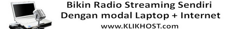 radio streaming shoutcast murah indonesia, jasa pembuatan radio streaming, cara membuat radio streaming