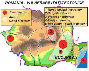 romania riscuri tectonice